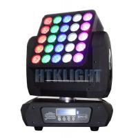 25x12W LED Matrix Moving Head Light Manufactures