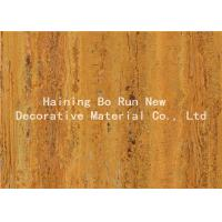 Strong Adhesive Wood Grain Film For PVC Decorative Board Corrosion Resistance Manufactures