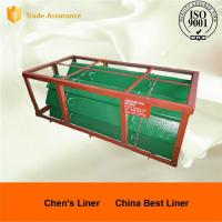 High Chrome White iron Chute Liners Sand Casting Parts for Crusher Manufactures