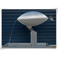 Contemporary Fish Waterfall Metal Water Feature For Interior Or Garden Decoration Manufactures