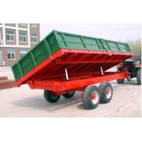 China Coal 8T three-way dumping agriculture tractor trailer Manufactures