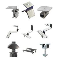Buy cheap Rail of solar mounting system on Metal roof. Rail R1, Rail H40B, End Clamp 40 from wholesalers