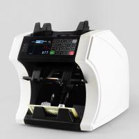 China Bank note professional two pocket bill banknote sorter money counter and cash currency sorter machine on sale