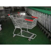 Double Bearing Casters Supermarket Shopping Carts with baby seat Manufactures