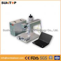 Quality Gears portable fiber laser marking machine small portable model for sale