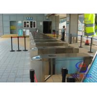 China Ticket management Barcode Reader turnstile entry systems with integrated Touch Screen on sale