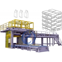 Carbon Steel Automatic Palletizer Machine 2-4 Layers / Min Intelligent Operation Manufactures
