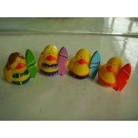 OEM Mini Yellow Personalised Rubber Bath Ducks For Baby Shower Favors Manufactures