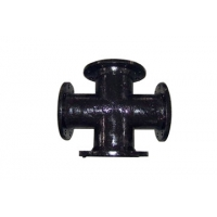 Main Pipeline Branch Soil Pipe Ductile Iron Cross Manufactures