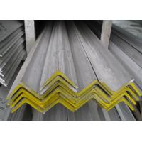 Quality 316L 304 Stainless Steel Angle , Hot Rolled Polished Stainless Steel Angle Iron for sale