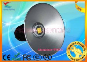 Quality High brightness AC85V - 265V 130W IP65 Black / Silver Industrial Led Lighting Fixtures for sale