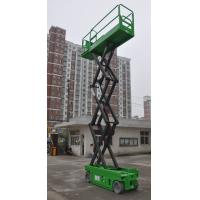 Buy cheap Platform Height Max 6m Self Propelled Scissor Lift of 230kg Loading Capacity with Extension Platform from wholesalers
