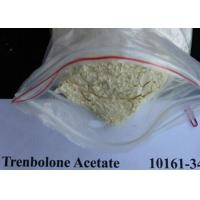 99% Yellow Raw Hormone Powders Trenbolone Acetate To Get Lean Manufactures