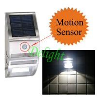 China Stainless Steel Outdoor Wall Lighting PIR Motion Sensor Wall Light PIR Wall Lamp (DL-MSW02) on sale
