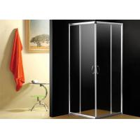 Hotel Bathroom Shower Enclosures Square Shower Cabins With Frame CE Ceritificated Manufactures