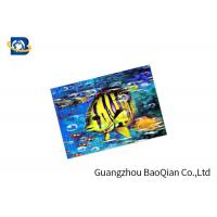 Customized 3D Lenticular Card High Definition 3D Lenticular Printing Service Manufactures