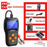 Long Lifespan Car Battery Tester KONNWEI KW600 XP WIN7 WIN8 WIN10 System Manufactures