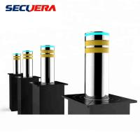 Buy cheap Anti- terrorism collision automatic concrete high security hydraulic bollard from wholesalers