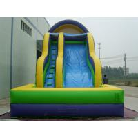 Kids Backyard Inflatable Water Slide With Pool PVC Tarpaulin CE Certificate Blower Manufactures