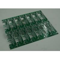 14 Array Per Pannel PCB Board Fabrication with V Cutting / Scrap Rails Manufactures