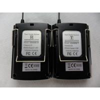 Black 008C Portable Tour Guide System Transmitter And Receiver For Play Audio Files Manufactures