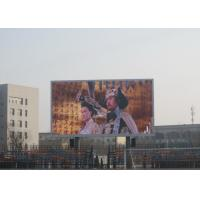6000 Nits Brightness Advertising LED Display Screen SMD2727 Lamp 6MM Pixel Pitch Manufactures