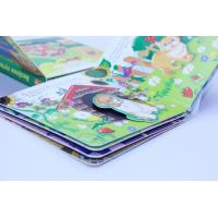 Walt Disney Custom Board Book Printing / Puzzle Story Book With Diecut Spacers Manufactures