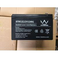 12v 10ah Gel Lead Acid Battery Deep Cycle Long Service Life Good Discharge Performance Manufactures