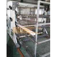 Poultry Farming Silver Color Hot-dip Galvanized Sheet Simple H Frame Battery Broiler Chicken Cages & Chicken Coops Manufactures