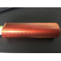 CuNi 90/10 Shape Type Heat Exchanger Fin Tube OD25.4 X 1.5WT L Finned Copper Tubing Manufactures