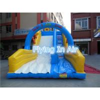 Customized Pvc Children Recreation Inflatable Slide with Blower for Outdoor Game Manufactures