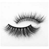 Thick Permanent Mink Eyelash Extensions 3D 100 Mink Fur Eyelashes Naturally Tapered Manufactures
