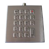 Weatherproof 19 Keys Access Control Keypad , Customizable Industrial Keypad Manufactures