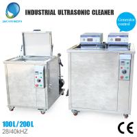 Adjustable Thermo Controller Industrial Ultrasonic Cleaner With Stainless Steel Housing Material Manufactures