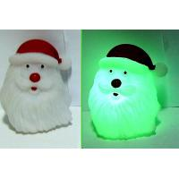 Quality Christmas LED Flashing Santa Light Up Bath Ducks / Dolphin Night Light Luminous for sale