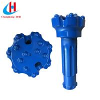 High Air Pressure Button Rock Drilling Tools DTH Hammer Button Bit Manufactures