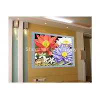 China PH 6mm SMD3528 HD Indoor Full Color LED Video Wall Display Advertising With 140° View Angle on sale