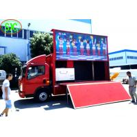 Buy cheap outdoor p6  full color advertising led screen installed on a  truck with high brightness from wholesalers