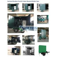 Fully Enclosed Vacuum Transformer Oil Purification Equipment Model ZYD-W-100(6000LPH) Manufactures