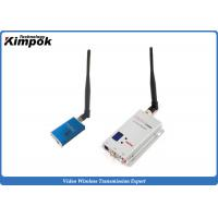 China Mini FPV Wireless Audio Video Transmitter 5-8 KM Long Range Transceiver 1.2Ghz on sale