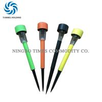 Colorful Mini Solar Garden Lights Quick Installation 4500K - 5500K LED Stick Light Manufactures