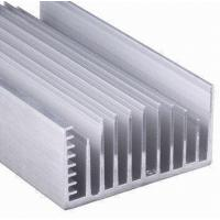 Clear Anodized 6063-T5 Aluminum LED Heat Sink Extrusion Profiles With Tapping , Stamping Manufactures