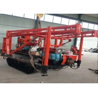 Hydraulic Crawler Mounted Rock Drilling Machine Water Well Core Drilling Rig Manufactures