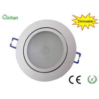 Aluminum and glass 5W / 92mm / 50000 hours dimmable LED downlights for supermarket,2 years warranty Manufactures