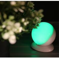 Round Shape Wireless Motion Sensor Night Light , USB Powered Led Lights For Decorating Manufactures