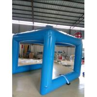 50Kg Weight PVC Tarpaulin Sealed PVC Inflatable Camping Tent With Logo Printing Manufactures