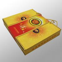 Shopping Custom Printed Paper Bags Printing Services For Gift , Moon Cake Box Manufactures