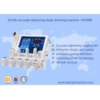 3d hifu accurate tightening body slimming facial lifting beauty machine - hf 300v Manufactures