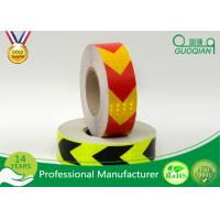 Red / Orange Fluorescent Retro Reflective Tape Adhesive Warning Tape 5 Cm Width Manufactures