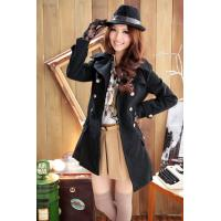 Buy cheap Popular Korean women Double breasted coat wholesale from wholesalers